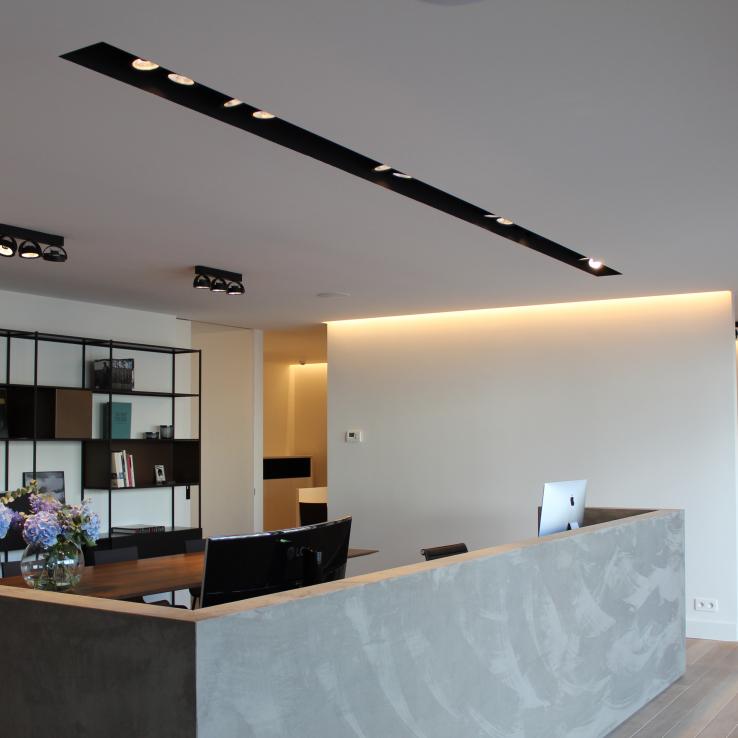 Kantoor te Westerlo | Elektriciteitswerken • Domotica • Verlichting